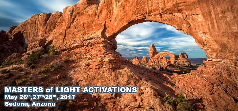 Masters of Light Activations Sedona